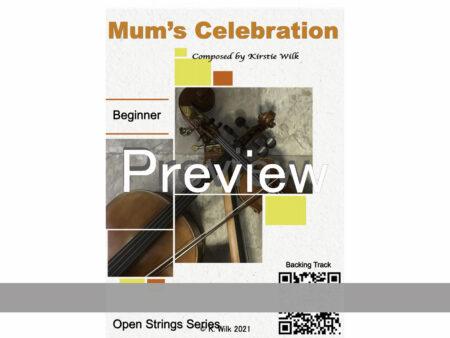 Mums Celebration title promo