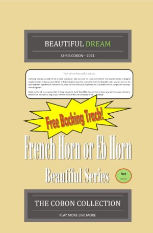 No.3 Beautiful Dream (French Horn or Eb Horn)