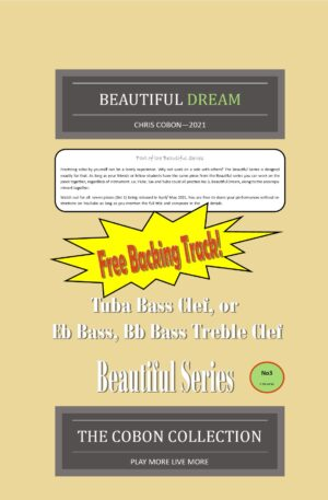 No.3 Beautiful Dream (Tuba, Eb Bass or Bb Bass)