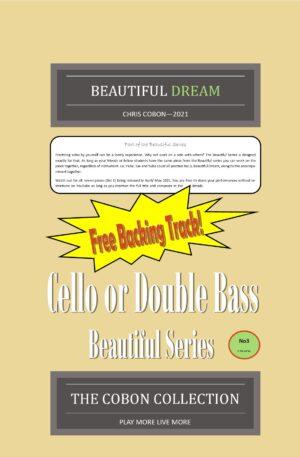 No.3 Beautiful Dream (Cello or Double Bass)