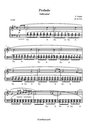 Chopin Prelude Op. 28 No. 4 'Suffocation'