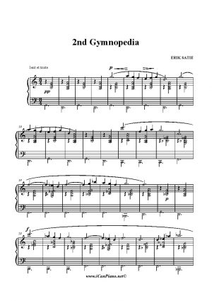 Satie 2nd Gymnopedia