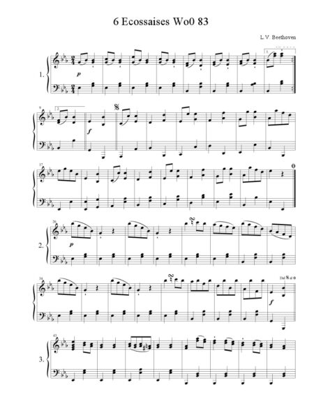 Beethoven20620Escossaise20WoO83a