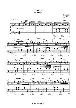 Chopin Waltz Op. 64 No. 1