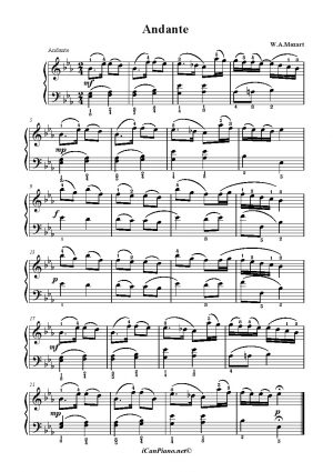 Mozart Andante
