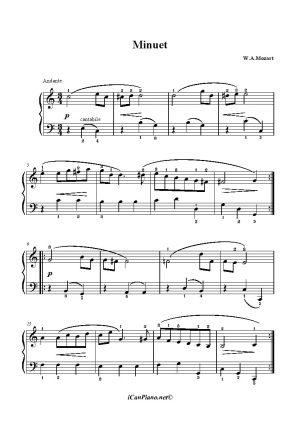 Mozart Minuet K6