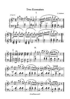 Schubert TwoEcossaises