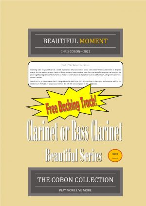 No.4 Beautiful Moment (Clarinet or Bass Clarinet)