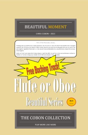 No.4 Beautiful Moment (Flute or Oboe)