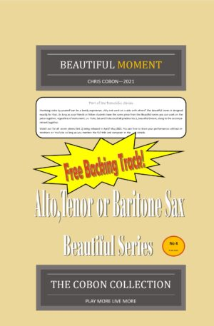 No.4 Beautiful Moment (Alto, Tenor or Baritone Saxophone)