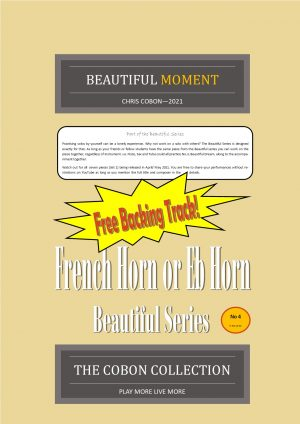 No.4 Beautiful Moment (French Horn or Eb Horn)