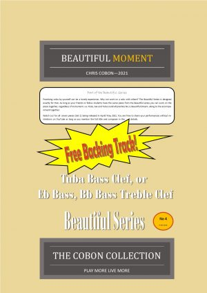No.4 Beautiful Moment (Tuba, Eb Bass or Bb Bass)