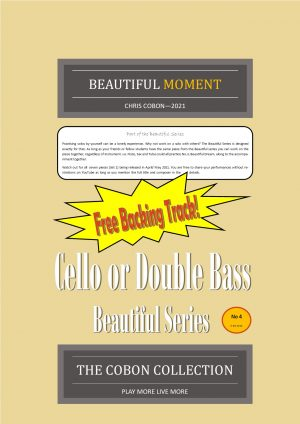 No.4 Beautiful Moment (Cello or Double Bass)