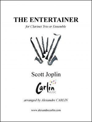 Joplin – The Entertainer for Clarinet Trio or ensemble