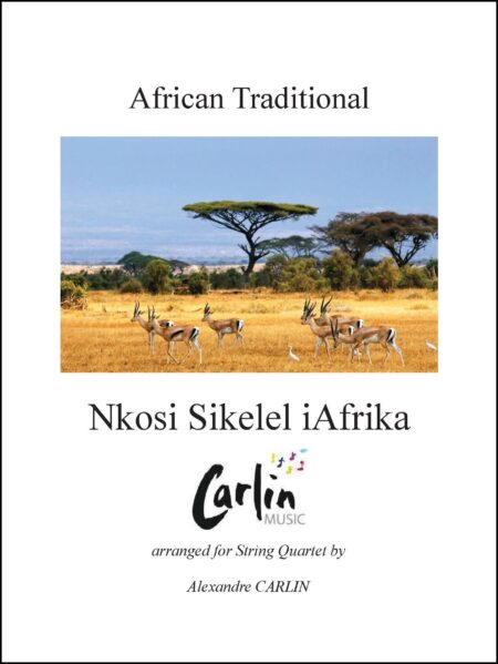 Nkosi Sikelel iAfrika String quartet Webcover with border