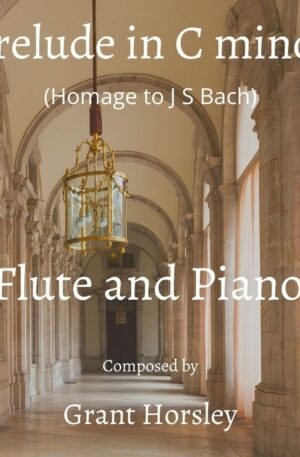 Prelude in C minor for Flute and Piano (Homage to J S Bach)
