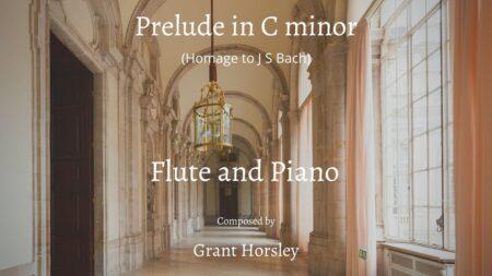 prelude in C minor flute