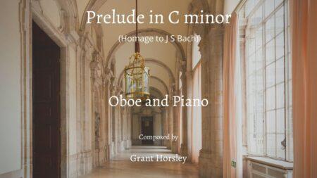 prelude in C minor oboe
