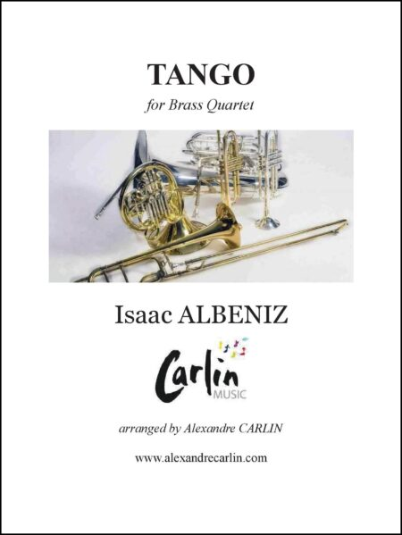 Tango brass Webcover with border
