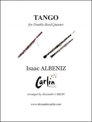 Albeniz – Tango for Double-Reed quartet or Ensemble