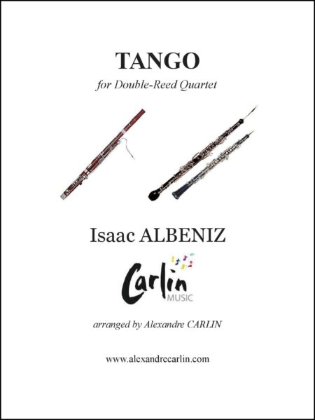 Tango double reed Webcover with border