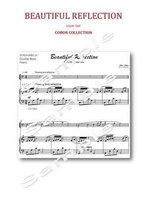 No.5 Beautiful Reflection (Cello or Double Bass)