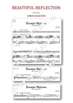 No.5 Beautiful Reflection (Tuba, Eb Bass or Bb Bass)