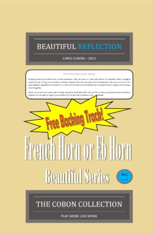 No.5 Beautiful Reflection (French Horn or Eb Horn)