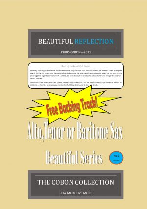 No.5 Beautiful Reflection (Alto, Tenor or Baritone Saxophone)