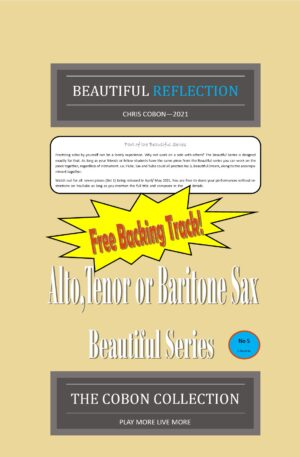 No.5 Beautiful Reflection (Alto, Tenor or Baritone Saxophone)