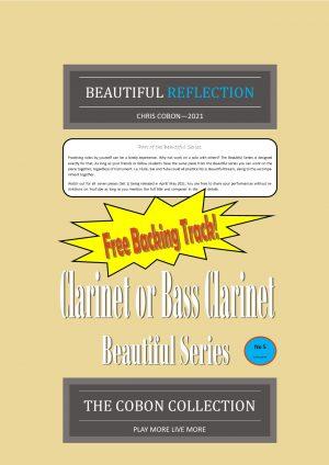 No.5 Beautiful Reflection (Clarinet or Bass Clarinet)