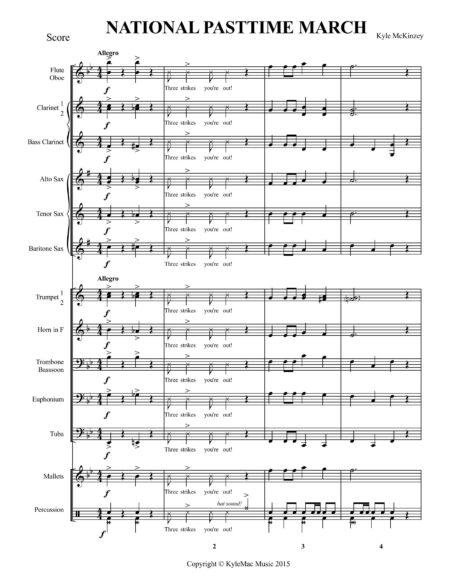 Score sample