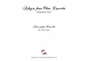 Flugelhorn Solo – Adagio from the Oboe Concerto in C by Marcello