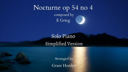 Copy of Nocturne op 54 no 4 grieg