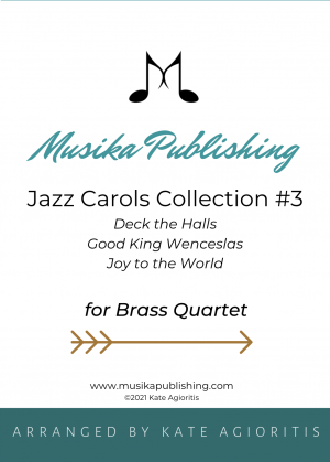 Jazz Carols Collection for Brass Quartet – Set Three