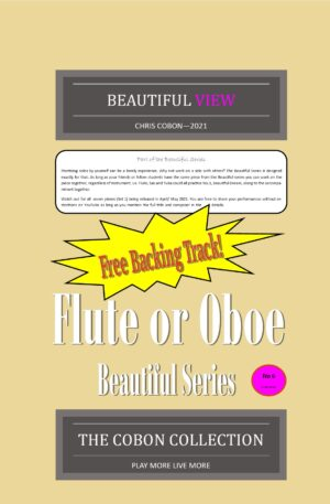 No.6 Beautiful View (Flute or Oboe)