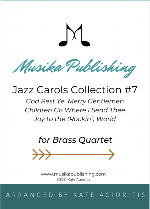 Jazz Carols Collection for Brass Quartet – Set Seven