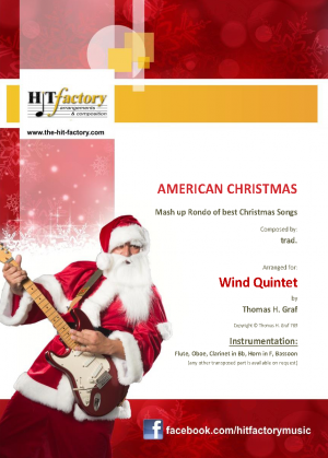 American Christmas – Mash up Rondo of best Christmas Songs – Wind Quintet