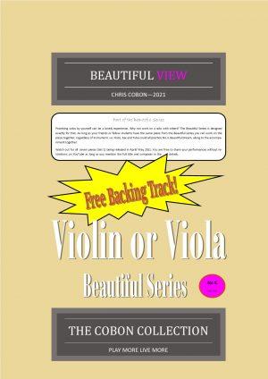 No.6 Beautiful View (Violin or Viola)