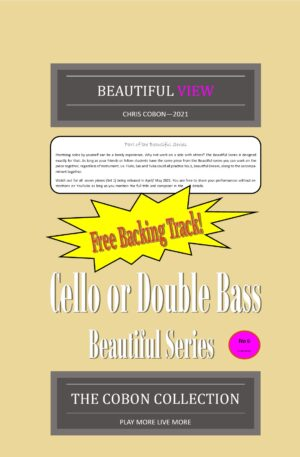 No.6 Beautiful View (Cello or Double Bass)
