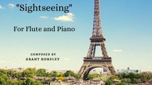 """""""Sightseeing"""" – A Jazz Waltz for Flute and Piano"""