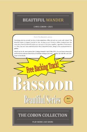 No.7 Beautiful Wander (Bassoon)