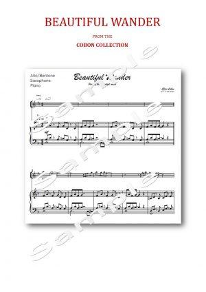 No.7 Beautiful Wander (Alto, Tenor or Baritone Saxophone)