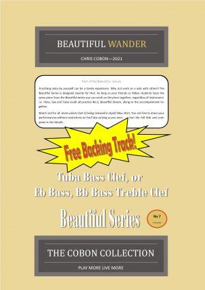 No.7 Beautiful Wander (Tuba, Eb Bass or Bb Bass)