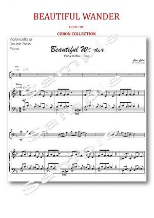 No.7 Beautiful Wander (Cello or Double Bass)