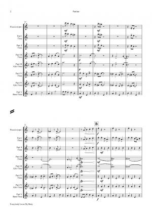 Everybody Loves My Baby – Jazz Classic – Flute Choir
