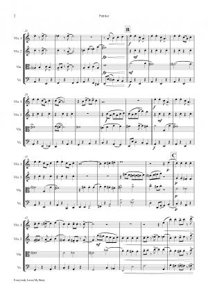 Everybody Loves My Baby – Jazz Classic – String Quartet