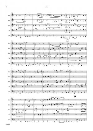 Margie – Dixieland Classic – Brass Quintet