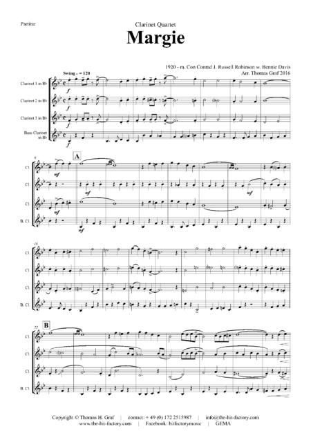 MargieClarinetQuartet Seite 01