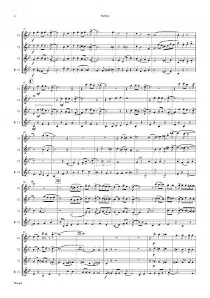 Margie – Dixieland Classic – Clarinet Quartet